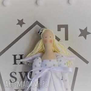 lalki pamiątka anioł chrztu