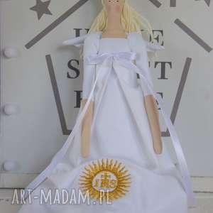 lalki anioł pamiątka pierwszej komunii