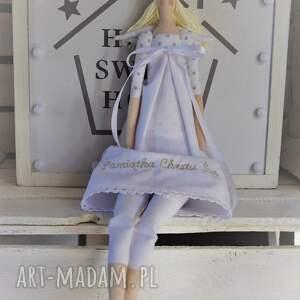 pamiątka lalki anioł chrztu