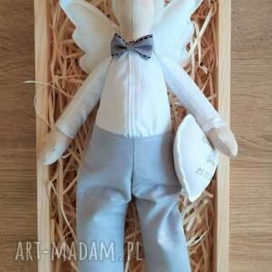 pamiątka lalki anioł tilda elegancik - pomysł na prezent