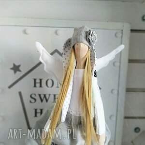 awangardowe lalki tilda anioł pamiątka chrztu stróż