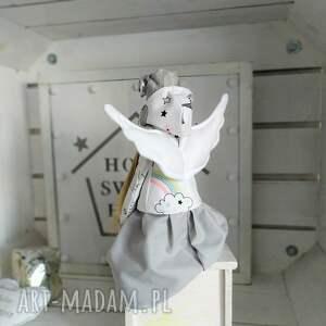 FabryqaPrzytulanek lalki: Anioł pamiątka Chrztu Stróż Modlitwa tilda