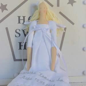 lalki tilda anioł pamiątka pierwszej komunii