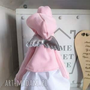 trendy lalki anioł tilda na pamiątkę chrztu