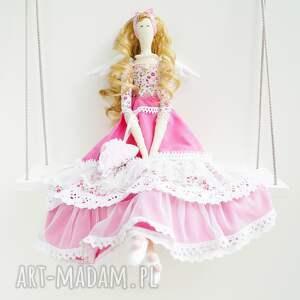 handmade lalki anioł tilda prezent na dzień