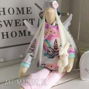 tilda lalki anioł pamiątka na chrzest