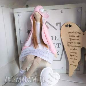 tilda lalki anioł na pamiątkę chrztu