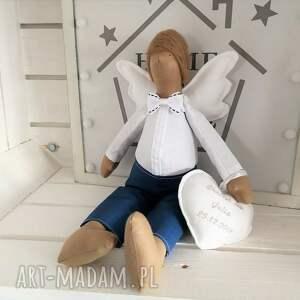 tilda lalki anioł pamiątka chrztu