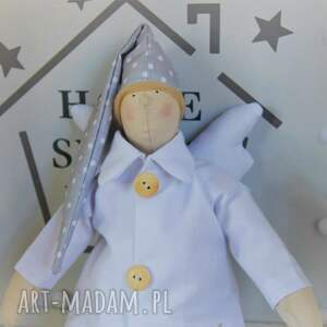 ciekawe lalki pamiątka anioł tilda śpioch