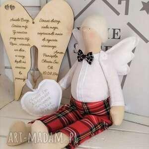 tilda lalki anioł na chrzest szkocka