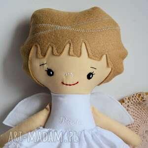 beżowe lalki wymyślony przez nas wzór aniołka