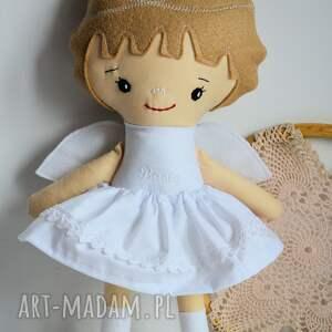 efektowne lalki lalka aniołek dla basi - zamówienie