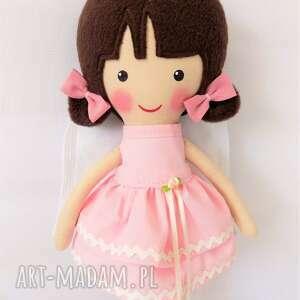 lalka lalki różowe aniołek laura