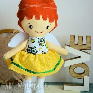 lalka lalki białe aniołek stróż - asia