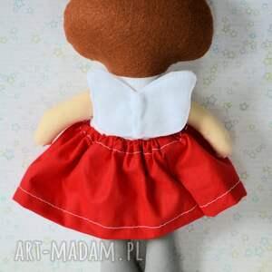 pomysł na świąteczny prezent białe aniołek - dziewczynka