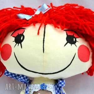 ręczne wykonanie lalki lalka anolinka - ręcznie wykonana