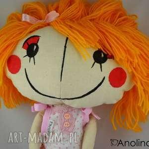 lalki lala anolinka - ręcznie szyta lalka