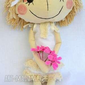nietypowe lalki lala anolinka - ręcznie wykonana lalka