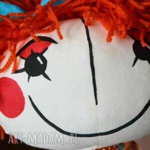lalka lalki turkusowe anolinka - ręcznie szyta