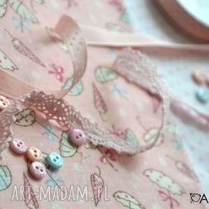 lala lalki różowe anolinka - ręcznie szyta lalka