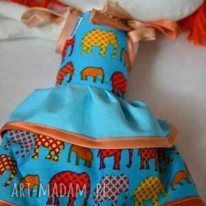 hand-made lalki lalka anolinka - ręcznie szyta