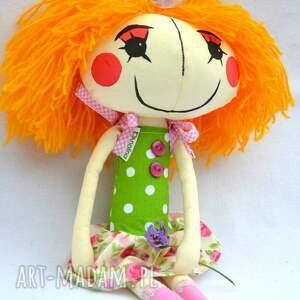 ręcznie robione lalki lalka anolinka - wykonana