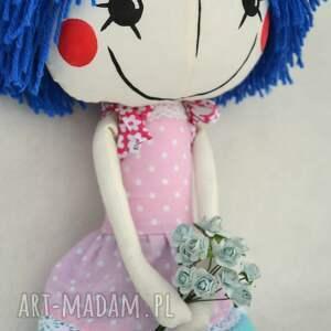hand-made lalki przytulanka anolinka - ręcznie wykonana lalka