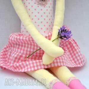 prezent lalki zielone anolinka - ręcznie wykonana lalka