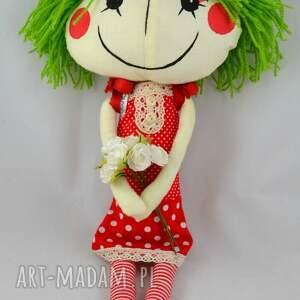 wyjątkowe lalki lala anolinka-szyta lalka z duszą