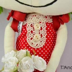 wyjątkowe lalki lalka anolinka-szyta z duszą