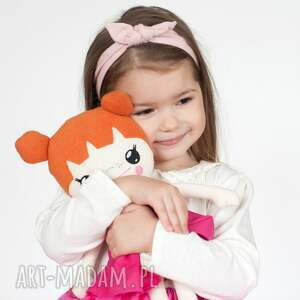 lalka lalki różowe bawełniana laleczka
