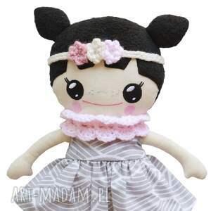 różowe lalki lalka bawełniana lalalila - poofy