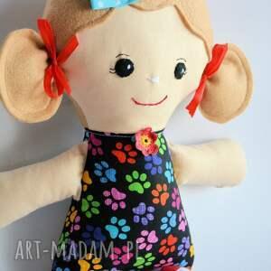 lalka lalki czerwone cukierkowa lala - tosia 40 cm