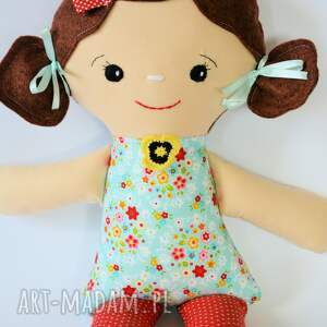 turkusowe lalki dziewczynka cukierkowa lala - elka 40 cm