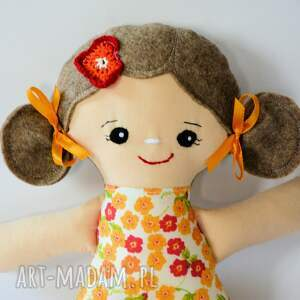 pomarańczowe lalki lalka cukierkowa lala (s) - wandzia 30 cm