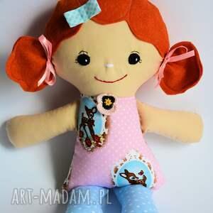lalka lalki różowe cukierkowa lala - halinka 40 cm