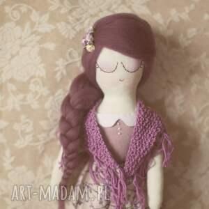 lalka lalki fioletowe różana bajka - klara