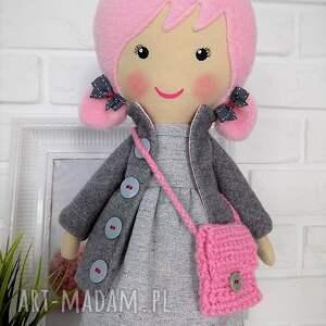różowe lalki lalka duża lala- aurora