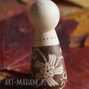 drewno lalki folkowa nostalgia - ręcznie