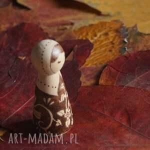 niepowtarzalne lalki drewno folkowa nostalgia - ręcznie