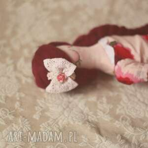 różowe lalki różana bajka - lalka łucja