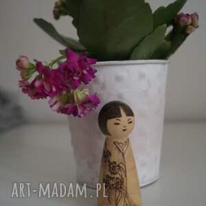 oryginalne lalki japonia japoneczka 2 - ręcznie wypalana