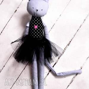 ciekawe lalki ce kot. duża kocia baletnica