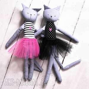 ciekawe lalki lalka kot. duża kocia baletnica