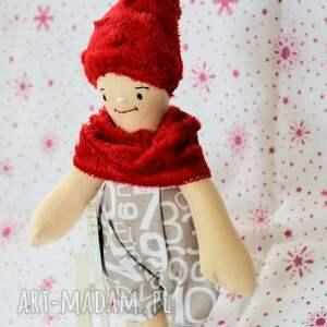szare lalki lalka krasnal wesołek
