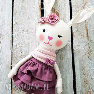 lalki maskotka króliczka marcelinka