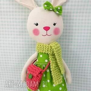 ręcznie robione lalki króliczka martynka