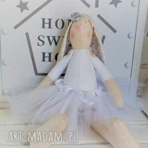 FabryqaPrzytulanek unikatowe lalki królik tilda pamiątka chrztu