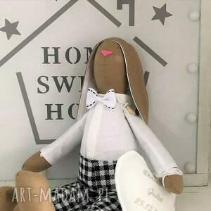 tilda lalki królik pamiątka chrztu