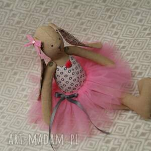 baletnica lalki różowe kropelkowa
